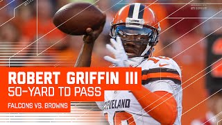RGIII's 50-Yard TD Bomb to Terrelle Pryor! (Preseason) | Falcons vs. Browns | NFL