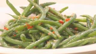 Tasting The Pan Fried Brill With Asian Green Beans - Market Kitchen