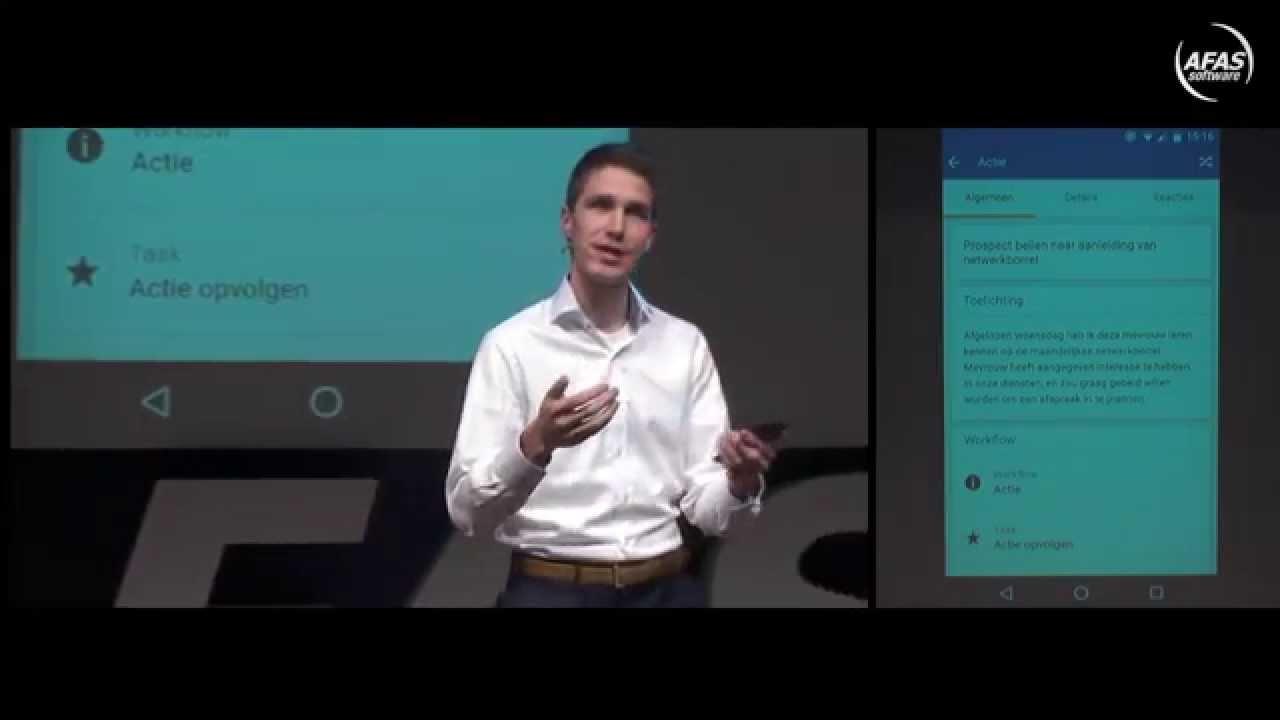 AFAS Open 2015 - Pocket app