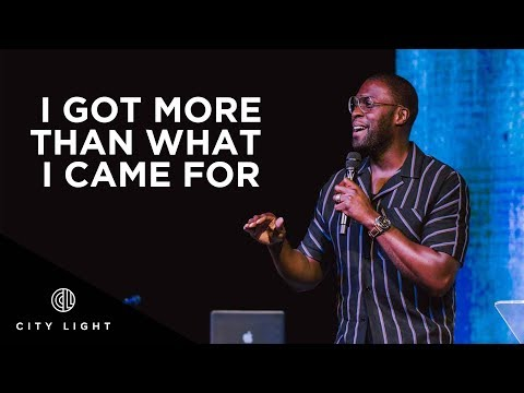 I Got More Than What I Came For | Robert Madu