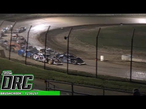 Brushcreek Motorsports Complex | 7/30/17 | Open Wheel Modifieds | Feature