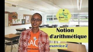 Download Video tcs international  جدع مشترك دولي : Notion d'arithmétique  --- exercice 2 --- MP3 3GP MP4