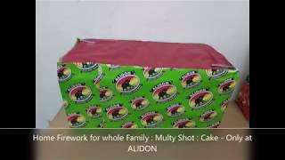 """Multi Colour Shot """" Cake """" Family Pack ( Firework Cake in Sri Lanka  )"""