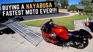 Buying Used Suzuki Hayabusa GSX1300R off Craigslist Ride Review Brock s Performance Exhaust
