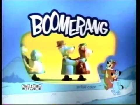 boomerang from cartoon network us ident commercial youtube