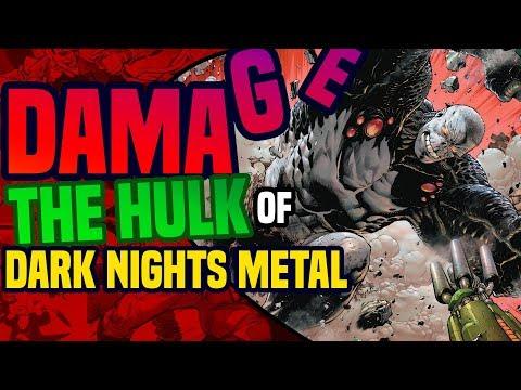 Dark Nights Metal: The Origin Of Damage ( DC Rebirth's New Hulk? )