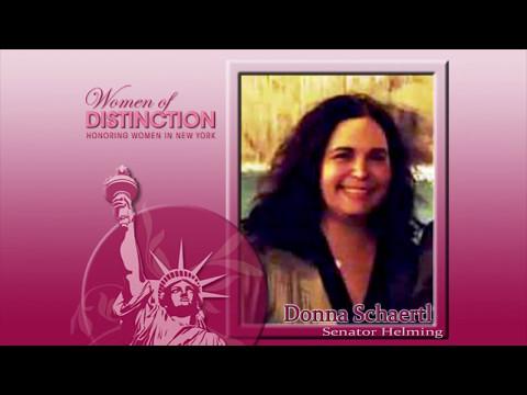 Donna Schaertl - Senator Helming's 2017 Woman of Distinction