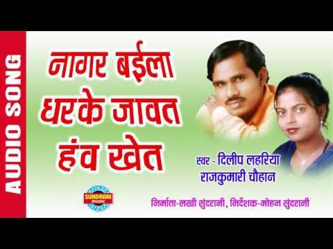 NAGAR BAILA DHARKE JAWAT HAV KHET - नांगर बिला ला धर के जावत हंव - Dilip Lahariya & Rajkumari
