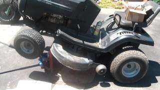 Free 1998 Murray wide body Tractor, troubleshooting mower issues,