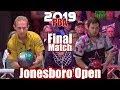 2019 Bowling - PBA Bowling Jonesboro Open Final - Norm Duke VS. Anthony Simonsen