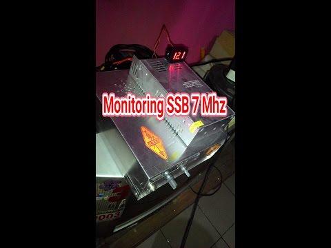 Monitor SSB HF Radio 7 Mhz