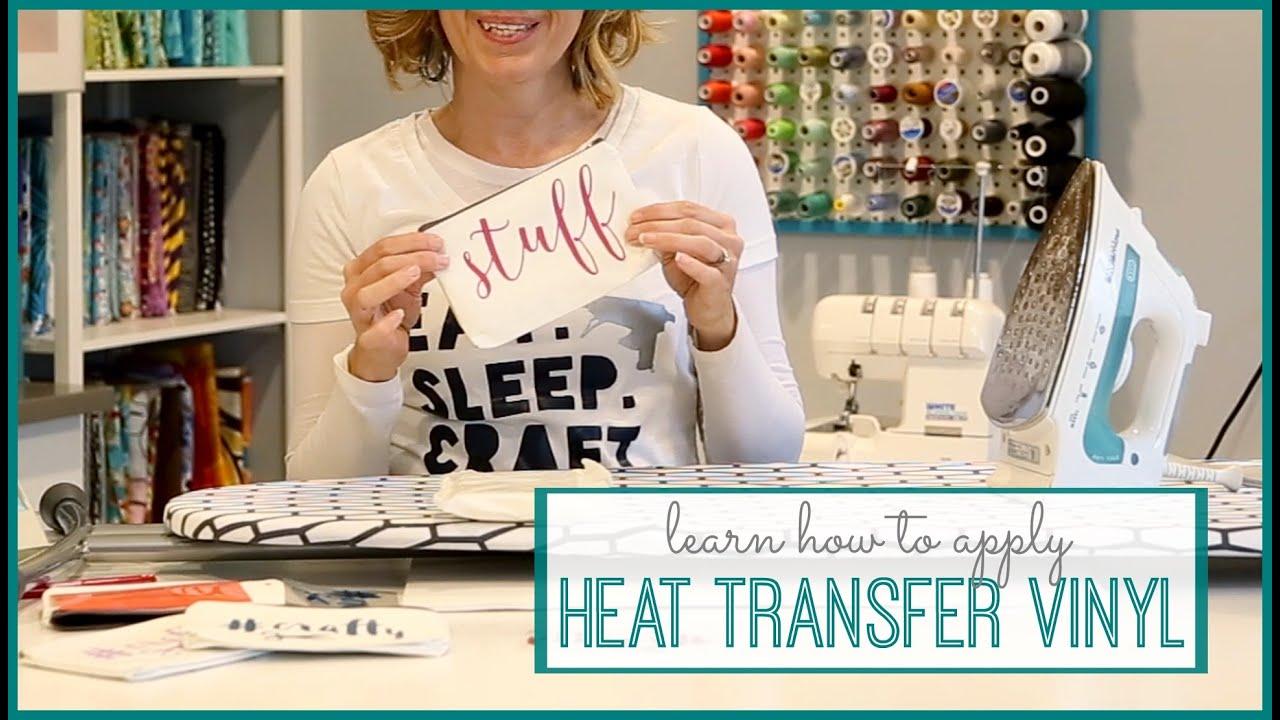 How To Apply Heat Transfer Vinyl Youtube