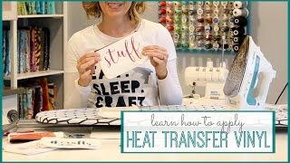 How to Apply Heat Transfer Vinyl