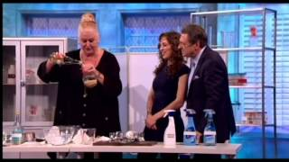 Dr Emily Grossman & Kim Woodburn discuss cleaning products on The Alan Titchmarsh Show