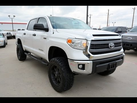 2014 Toyota Tundra Sr5 Tss Crewmax Lifted Truck Youtube