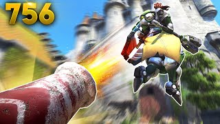 IS BRIGITTE A BULLET..?!   Overwatch Daily Moments Ep.756 (Funny and Random Moments)