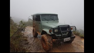 Toyota Bandeirante na Serra da Canastra!!!