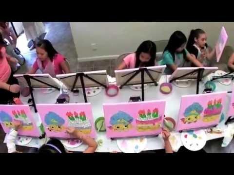 Kids Birthday Party in Brooklyn - Art Fun Studio