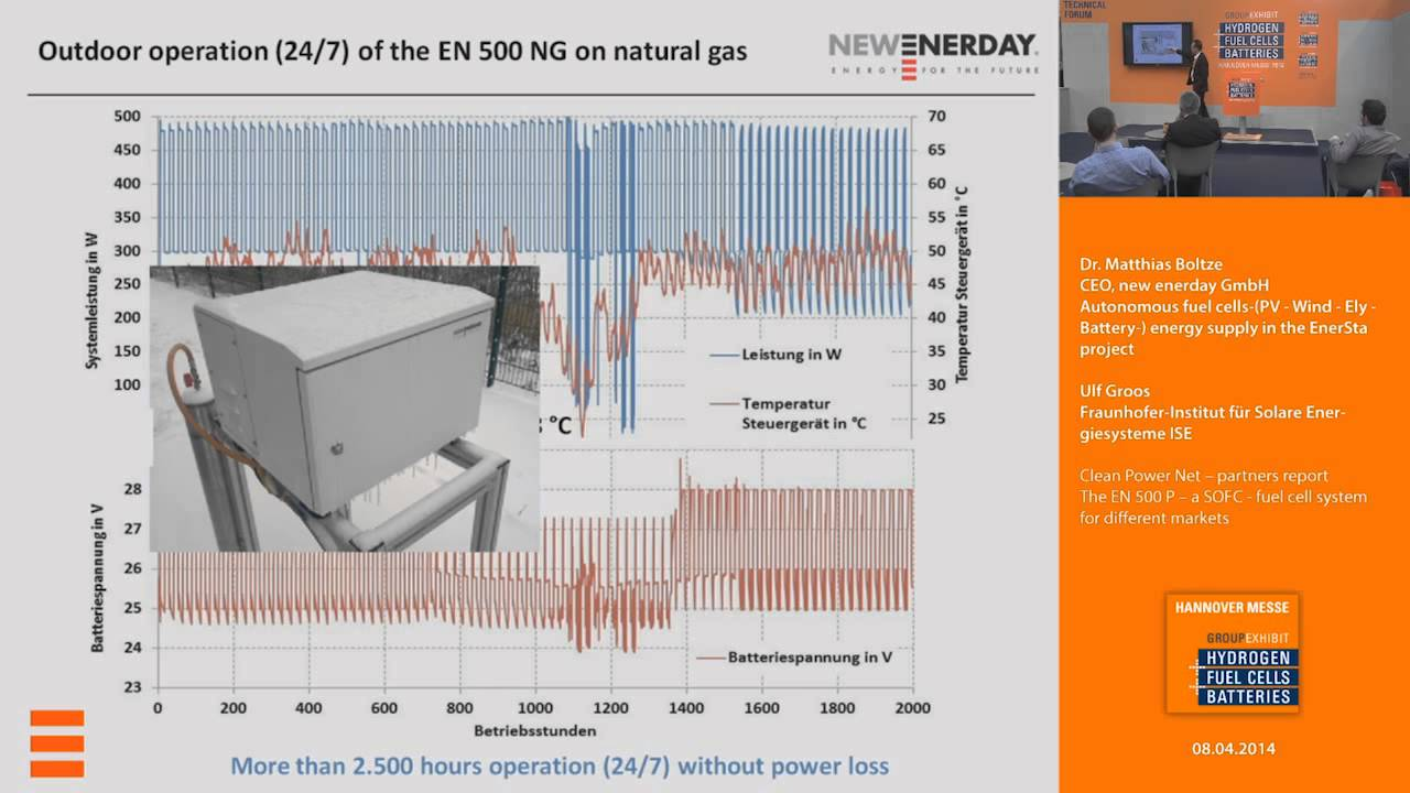 new enerday GmbH at Europe's largest hydrogen, fuel cells