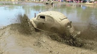 VW Beetle Mudding At Waterman Mud Bog