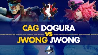 CAG Dogura (M.Bison) VS JWONG JWong (Poison) - Canada Cup 2019 Pools - CPT 2019