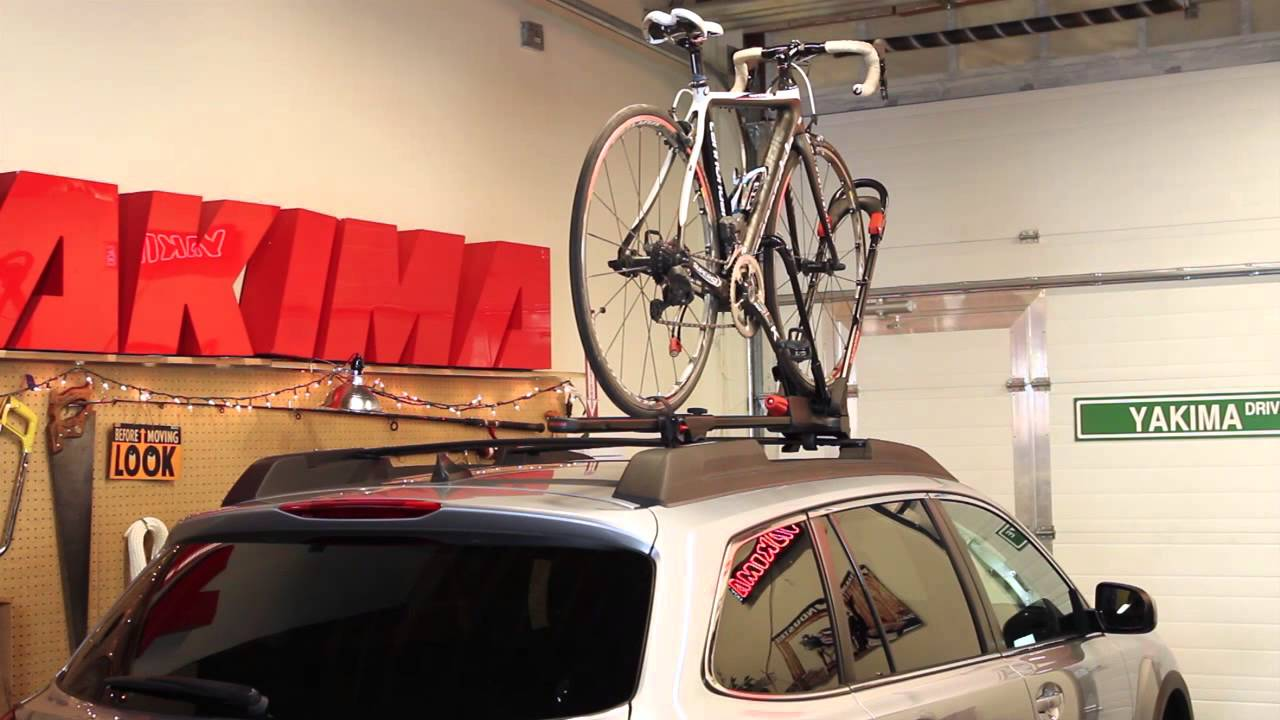 yakima frontloader upright bike rack installation