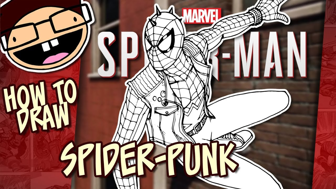 How to Draw SPIDERPUNK SpiderMan