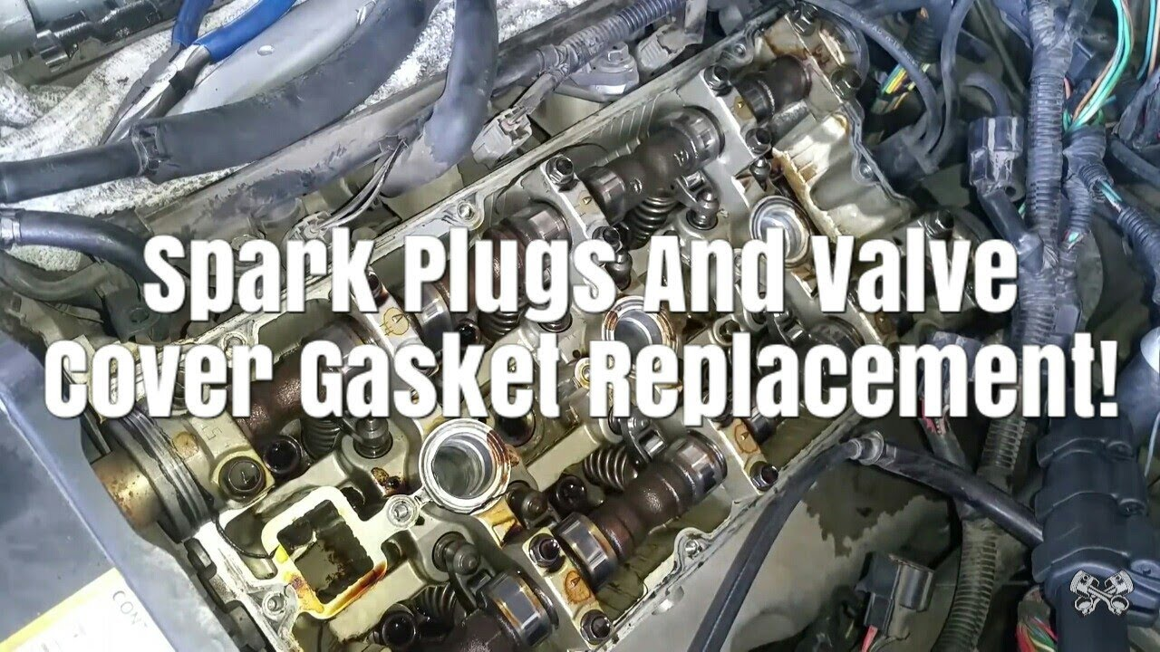 2003 2006 kia sorento spark plug and valve cover gasket replacement pcv location part2 step by step [ 1280 x 720 Pixel ]