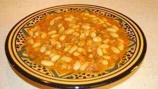 Loubia - Moroccan White Beans Recipe - CookingWithAlia - Episode 52