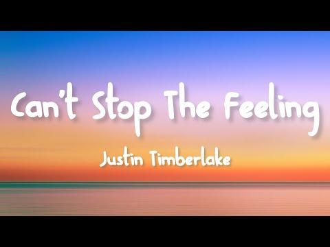 Justin Timberlake - Can't Stop The Feeling (Lyrics)