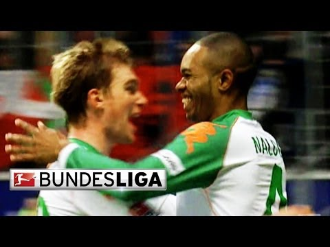 Naldo scores the bundesliga's only hat-trick by a defender