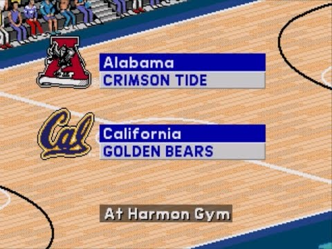 Coach K College Basketball | 1995 | 2nd Round | Alabama vs California | SGCTS
