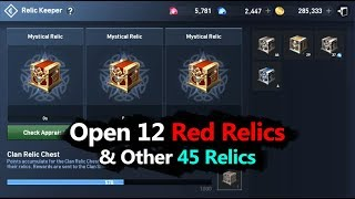 Lineage 2 Revolution Open 60 Relics Chest