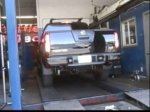 Nissan Frontier Diesel >> Muffler Tech Nissan Frontier 40L 06' tru-dual, x-pipe, 40 ...