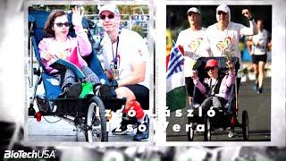 Hogyan futottuk le együtt az Athén Maratont?    Izsó László és Vera története