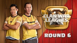 Clan War Leagues TH12 Strategy Clash of Clans Round 6