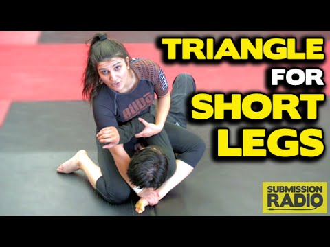 how to get a triangle gap between thighs