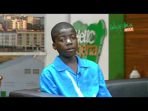 STORY OF A 15 YEARS OLD PROFESSIONAL BARBER - HELLO NIGERIA