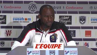 Vieira « Les trois points, on ne les a pas volés » - Foot - L1 - Nice