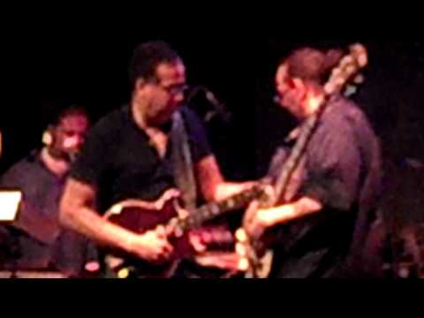 Stanley Clarke Lewis Johnson and George perform in
