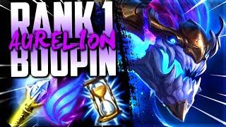 BOOPIN MY WAY TO RANK 1!!! BEST AURELION WORLD DESTROYING NA CHALLENGER!!!
