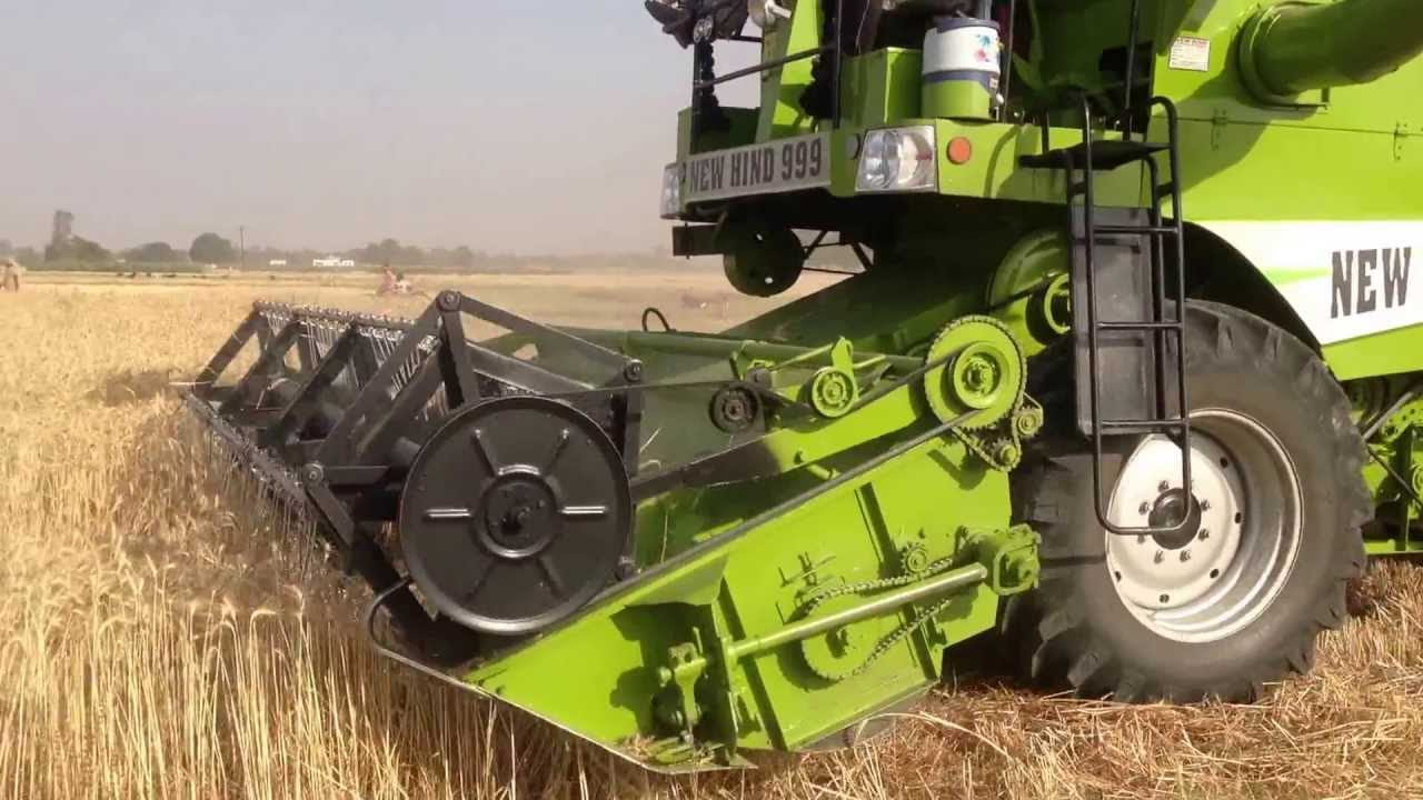 NEW HIND 999 - Multicrop Combine Harvesters, Punjab, India