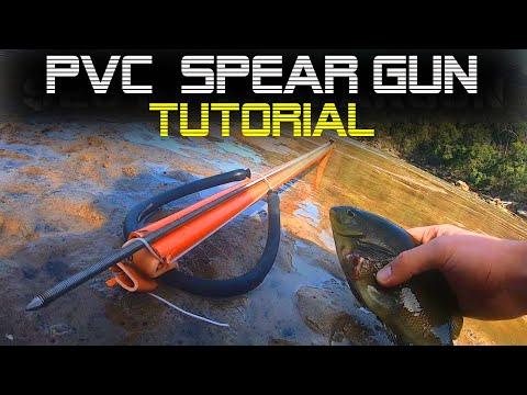 How To Make A PVC Speargun CHEAP! DIY Speargun Fishing