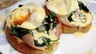 Eggs Florentine Cafe Style Video Recipe Cheekyricho