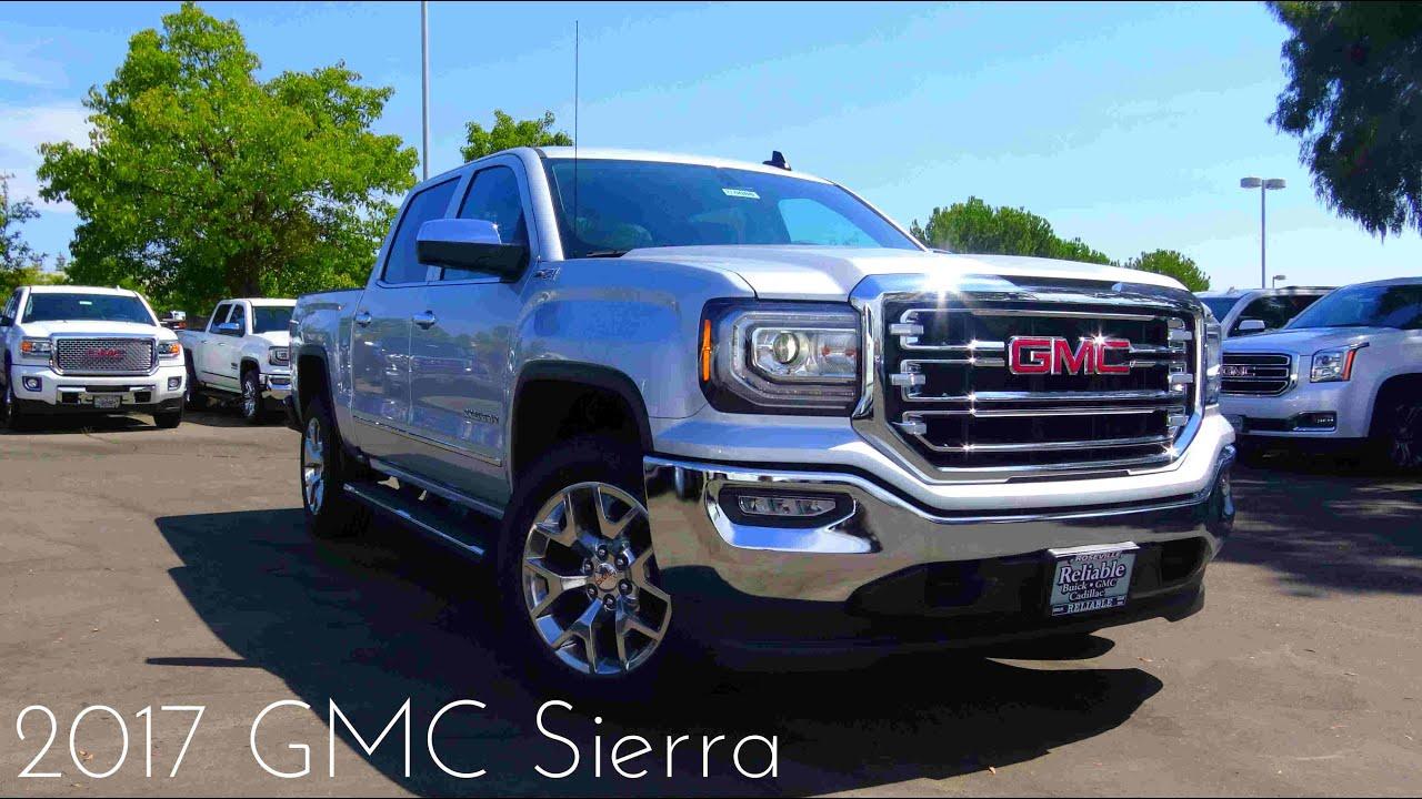 2017 GMC Sierra SLT 1500 5.3 L V8 Road Test & Review - YouTube