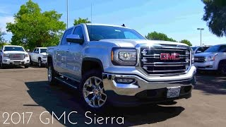 2017 GMC Sierra SLT 1500 5.3 L V8 Road Test & Review