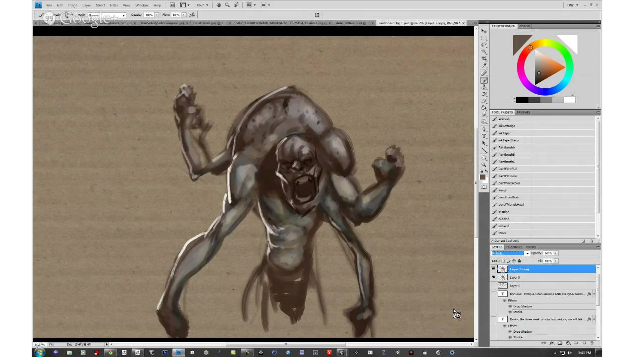 Character Design Zbrush Course : Danny williams breaks down character design in zbrush