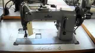 Adler 166-1 zig-zag per pesante/for heavy material -Pastori Srl macchine per cucire industriali
