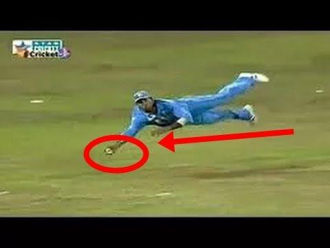 TOP 7 Catches By Yuvraj Singh !