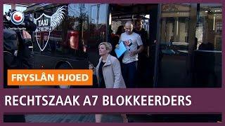 REPO: Eerste dag rechtszaak A7 blokkeerders